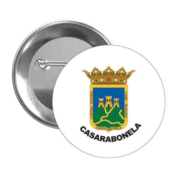 1485 chapa escudo heraldico casarabonela