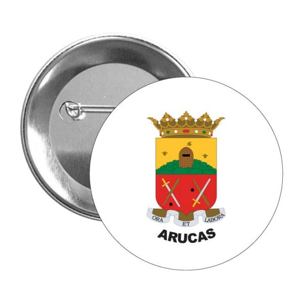 1486 chapa escudo heraldico arucas