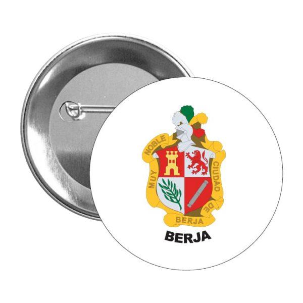 1487 chapa escudo heraldico berja
