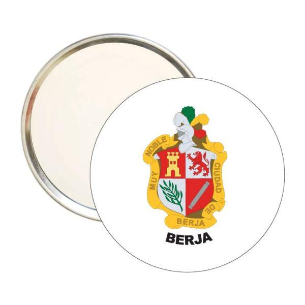 1487 espejo redondo escudo heraldico berja