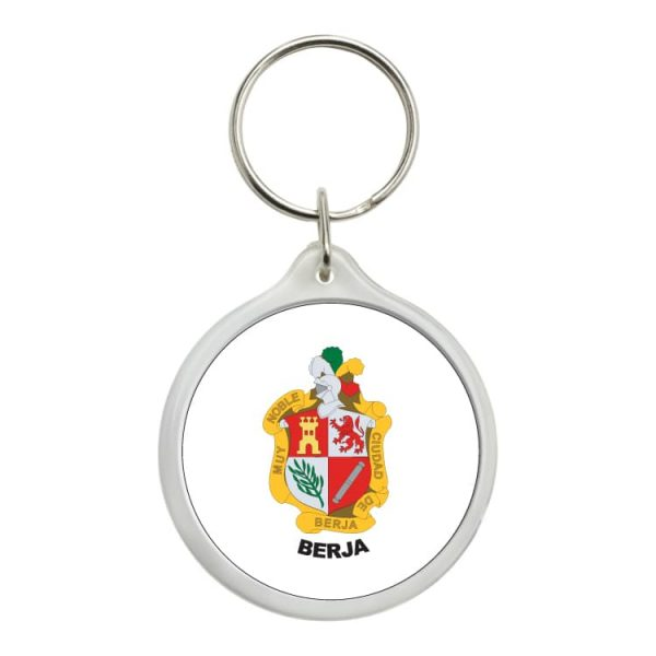 1487 llavero redondo escudo heraldico berja