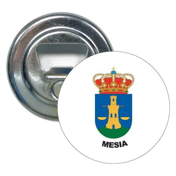 1489 abridor redondo escudo heraldico mesia