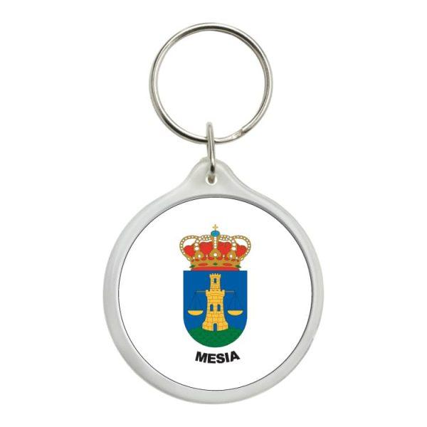 1489 llavero redondo escudo heraldico mesia