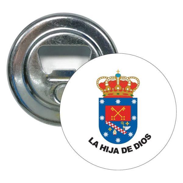 1490 abridor redondo escudo heraldico la hija de dios