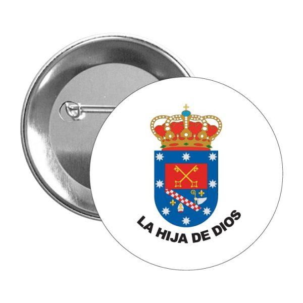 1490 chapa escudo heraldico la hija de dios