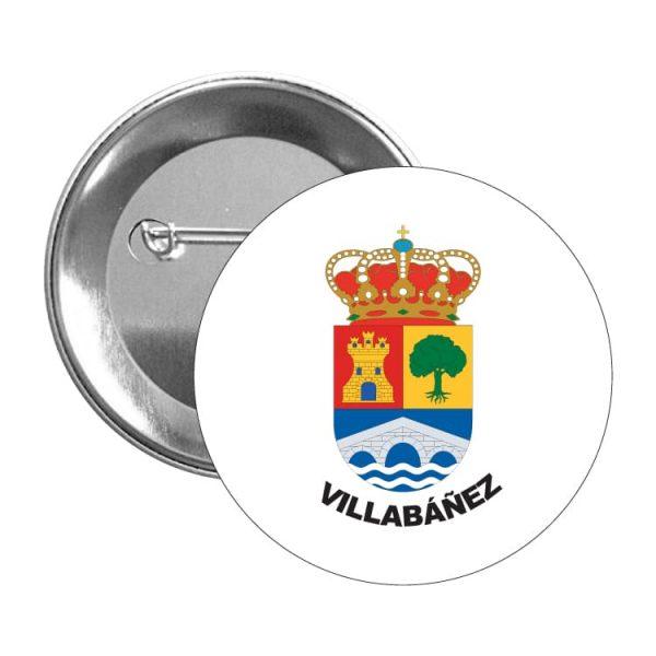 1491 chapa escudo heraldico villabañez