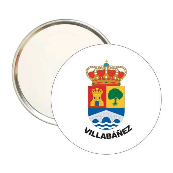 1491 espejo redondo escudo heraldico villabañez