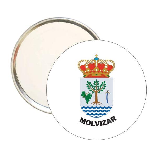 1492 espejo redondo escudo heraldico molvizar