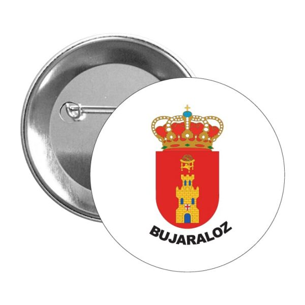 1494 chapa escudo heraldico bujaraloz