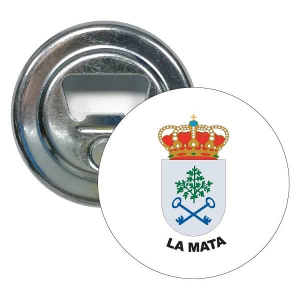 1495 abridor redondo escudo heraldico la mata