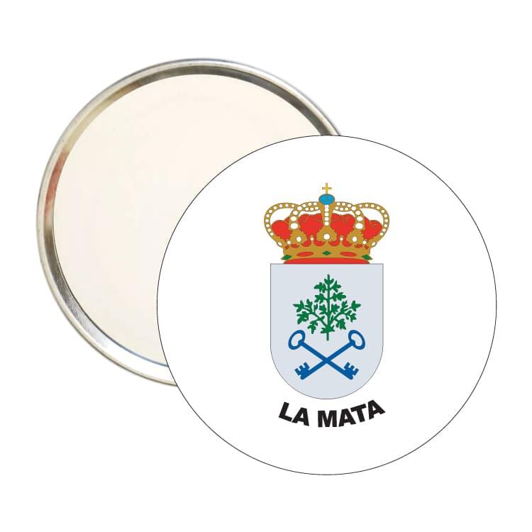 1495 espejo redondo escudo heraldico la mata