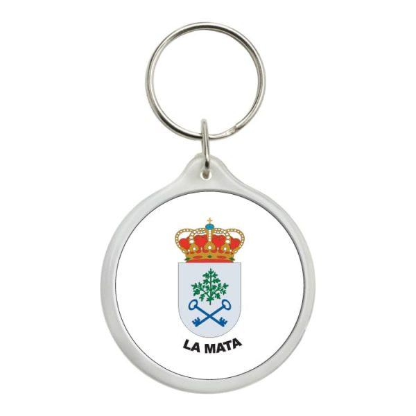 1495 llavero redondo escudo heraldico la mata