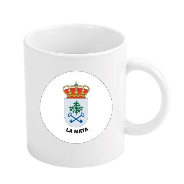 1495 taza escudo heraldico la mata
