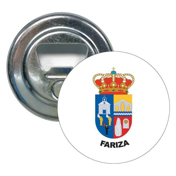 1496 abridor redondo escudo heraldico fariza