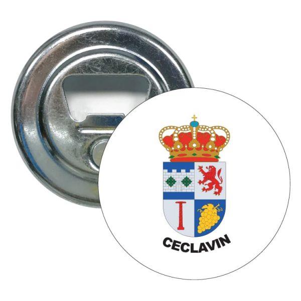 1497 abridor redondo escudo heraldico ceclavin