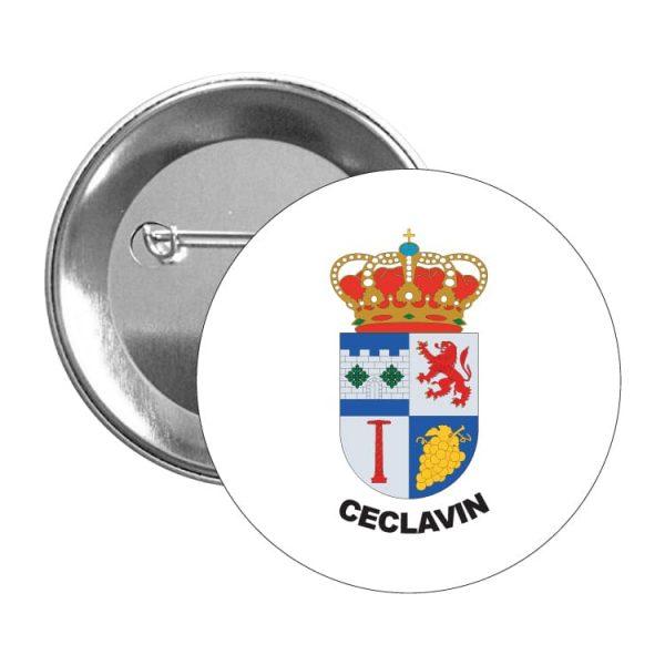 1497 chapa escudo heraldico ceclavin