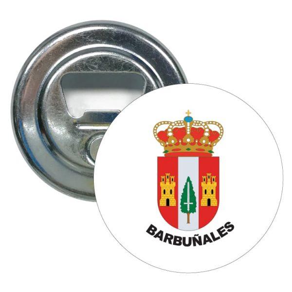 1498 abridor redondo escudo heraldico barbuñales