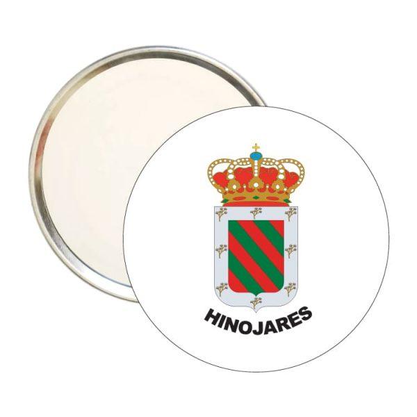 1499 espejo redondo escudo heraldico hinojares