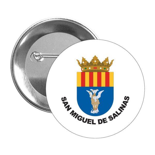 1500 chapa escudo heraldico san miguel de salinas