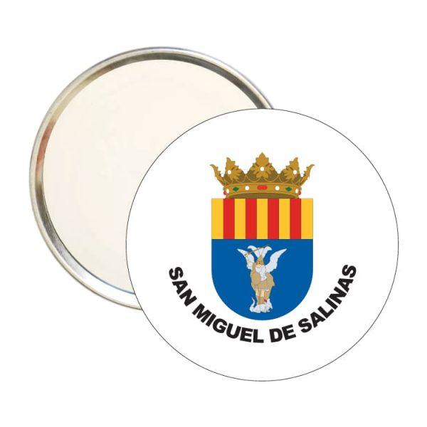 1500 espejo redondo escudo heraldico san miguel de salinas