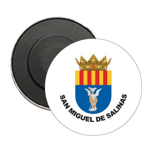 1500 iman redondo escudo heraldico san miguel de salinas