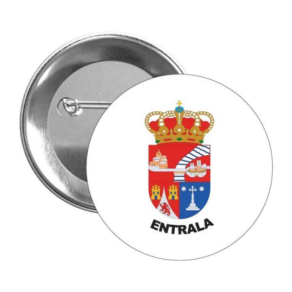 1503 chapa escudo heraldico entrala