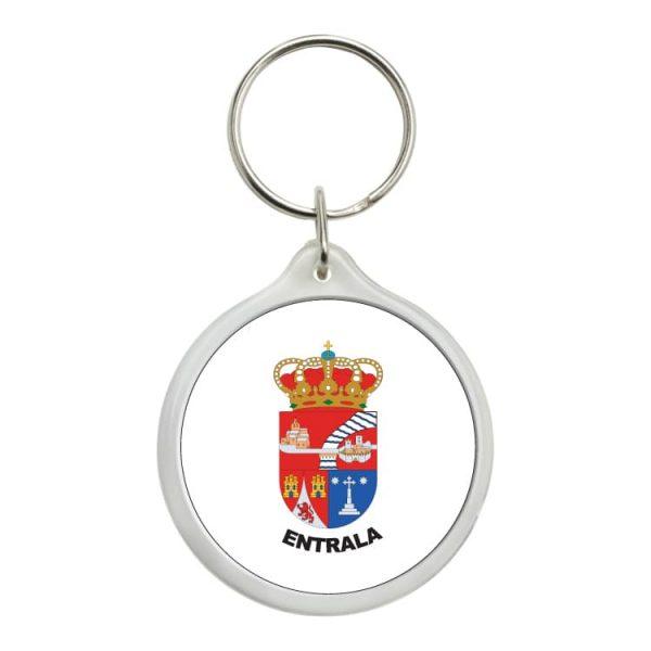 1503 llavero redondo escudo heraldico entrala