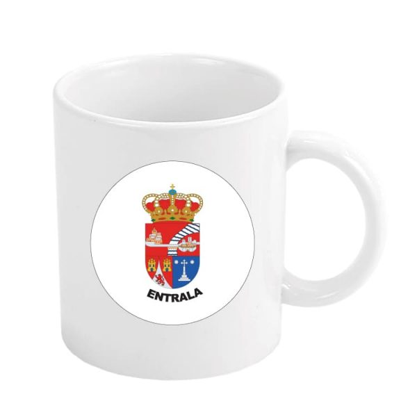 1503 taza escudo heraldico entrala