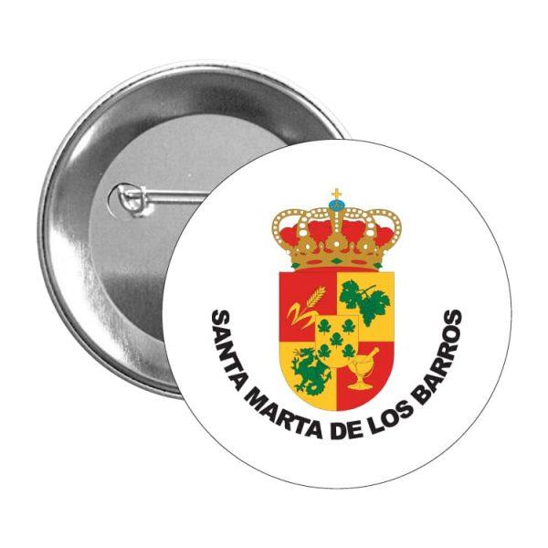 1504 chapa escudo heraldico santa marta de los barros