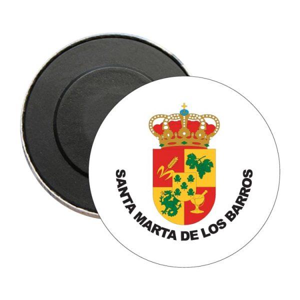 1504 iman redondo escudo heraldico santa marta de los barros