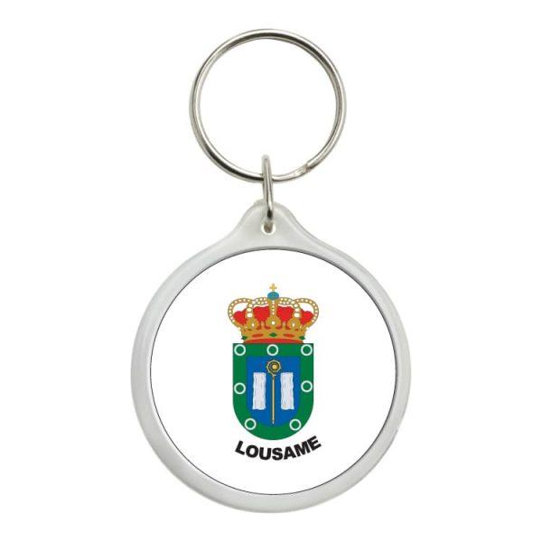1506 llavero redondo escudo heraldico lousame