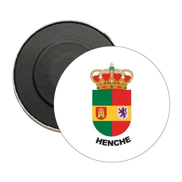 1508 iman redondo escudo heraldico henche