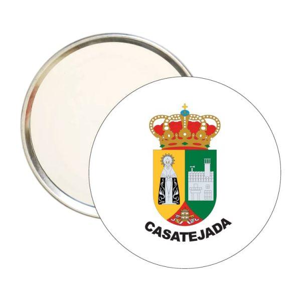1509 espejo redondo escudo heraldico casatejada