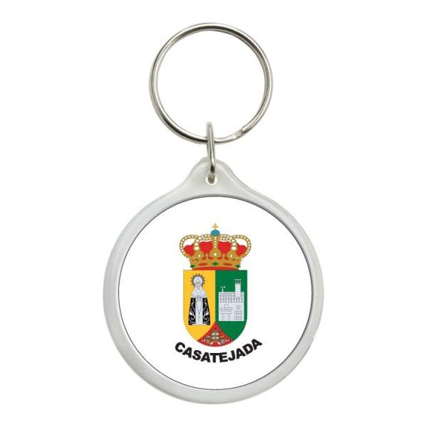 1509 llavero redondo escudo heraldico casatejada