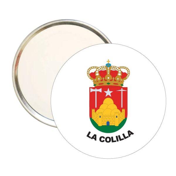 1511 espejo redondo escudo heraldico la colilla