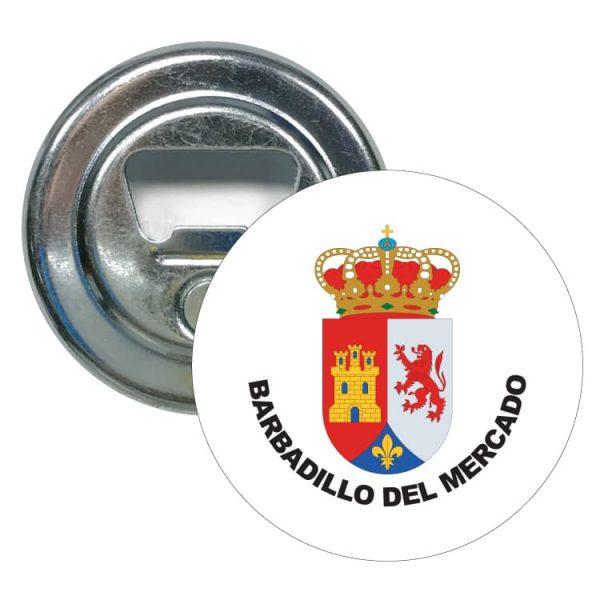 1512 abridor redondo escudo heraldico barbadillo del mercado