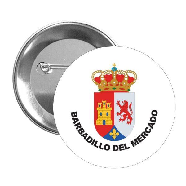 1512 chapa escudo heraldico barbadillo del mercado