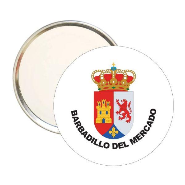 1512 espejo redondo escudo heraldico barbadillo del mercado