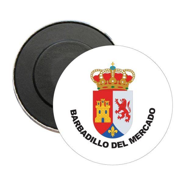 1512 iman redondo escudo heraldico barbadillo del mercado