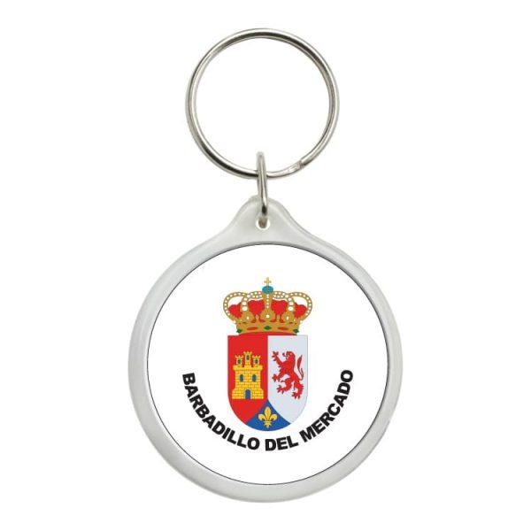 1512 llavero redondo escudo heraldico barbadillo del mercado