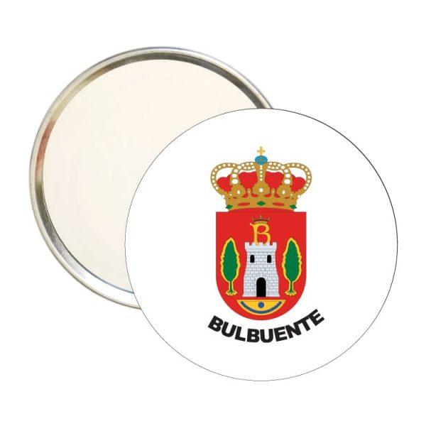 1513 espejo redondo escudo heraldico bulbuente