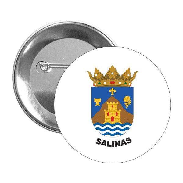 1514 chapa escudo heraldico salinas