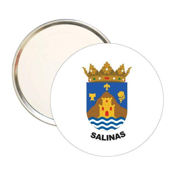 1514 espejo redondo escudo heraldico salinas