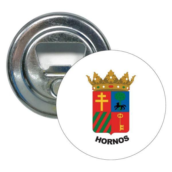 1516 abridor redondo escudo heraldico hornos
