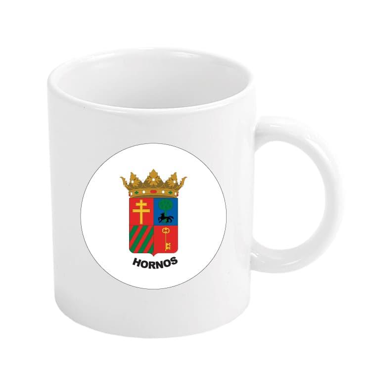 1516 taza escudo heraldico hornos