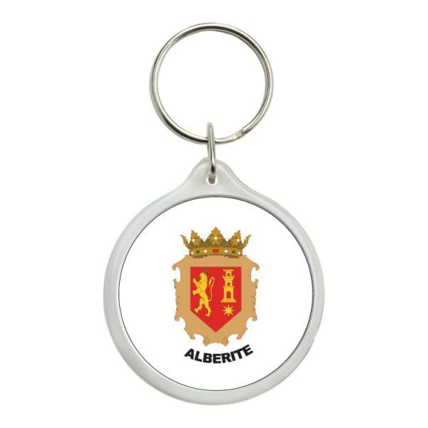 1517 llavero redondo escudo heraldico alberite