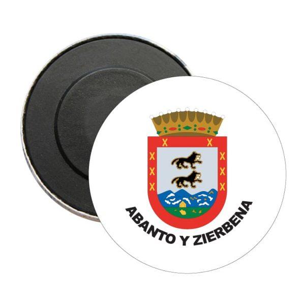 1523 iman redondo escudo heraldico abanto y zierbena