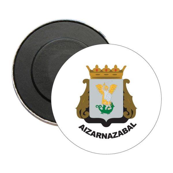 1524 iman redondo escudo heraldico aizarnazabal
