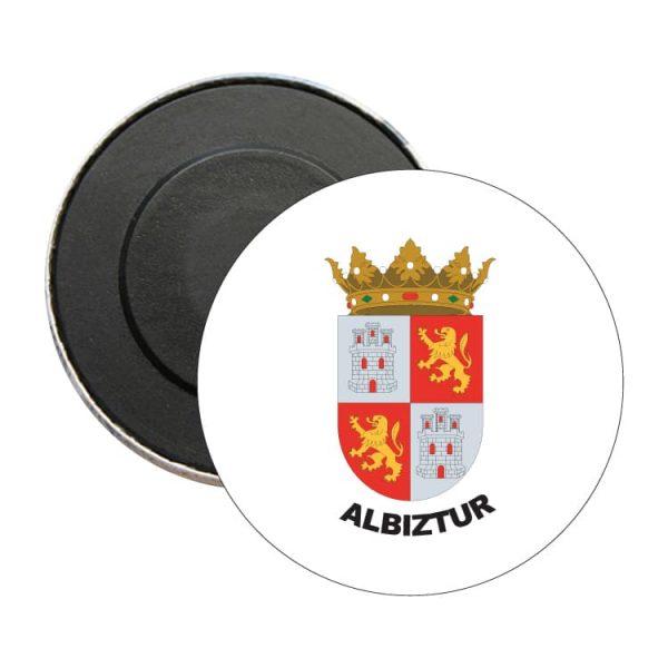 1525 iman redondo escudo heraldico albiztur