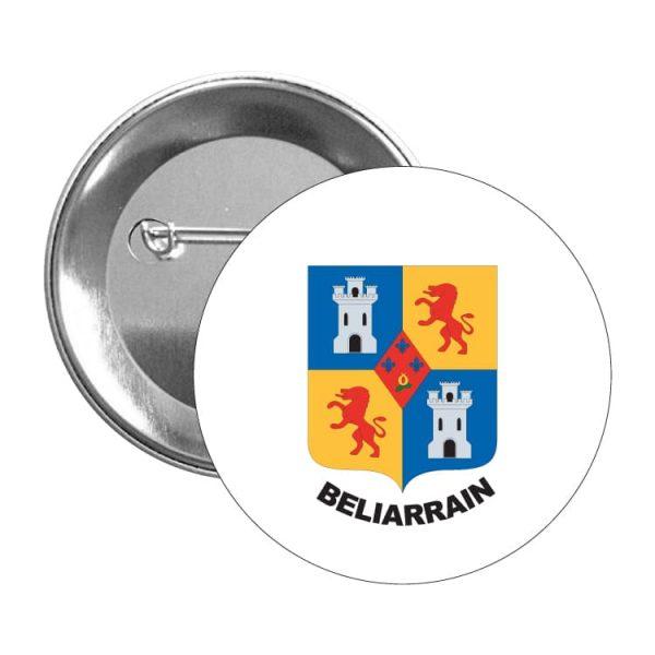 1529 chapa escudo heraldico beliarrain